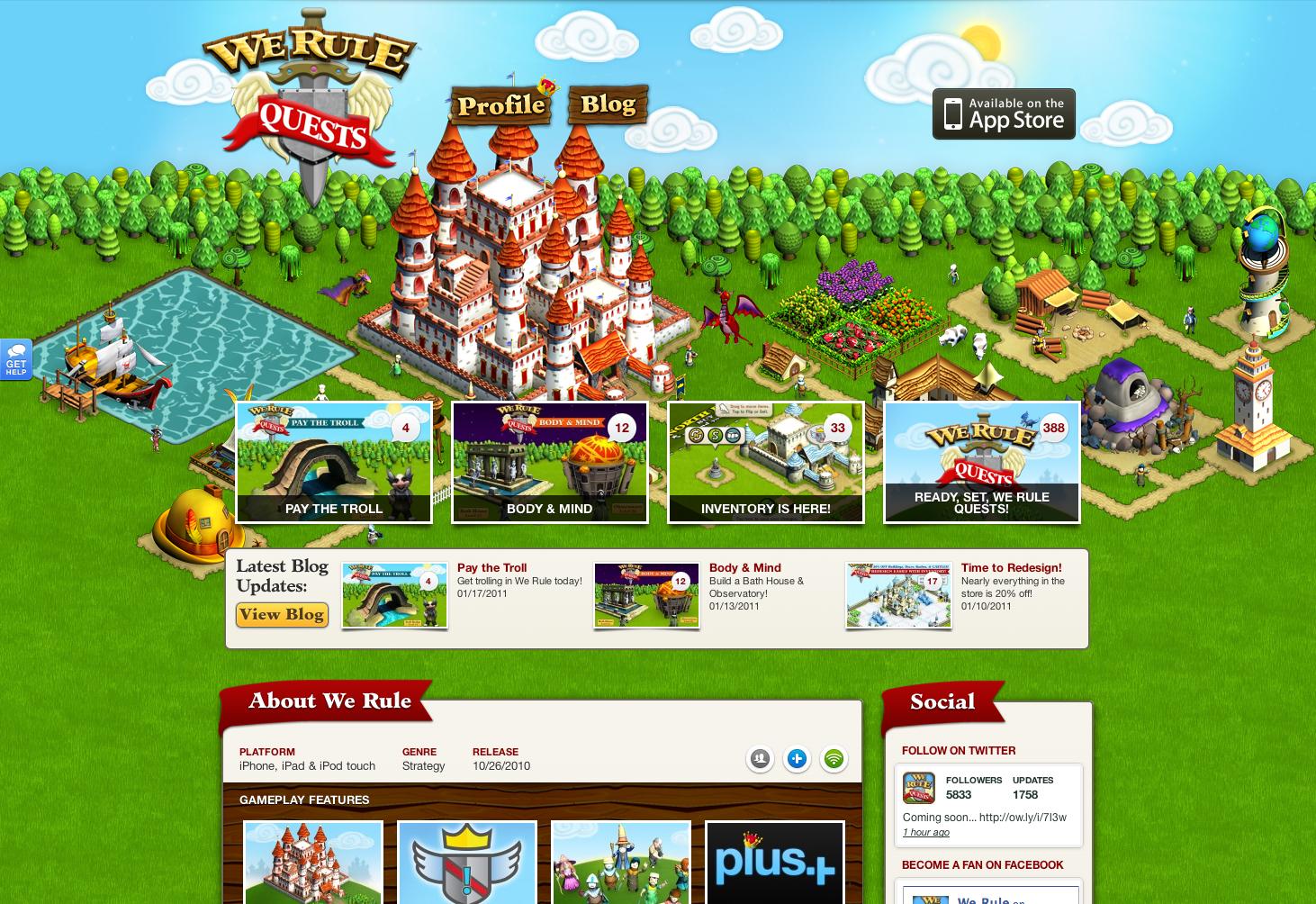 ngmoco:) We Rule WordPress Theme: Header