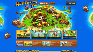 ngmoco:) Adventure Bay Wordpress Theme: Header