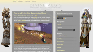 Divine Aegis Wordpress Theme