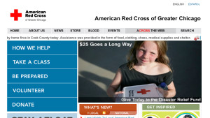 Red Cross Web Ads