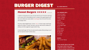 Burger Digest Wordpress Theme