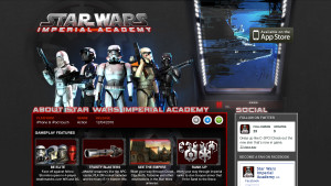 ngmoco:) Star Wars Imperial Academy Wordpress Theme