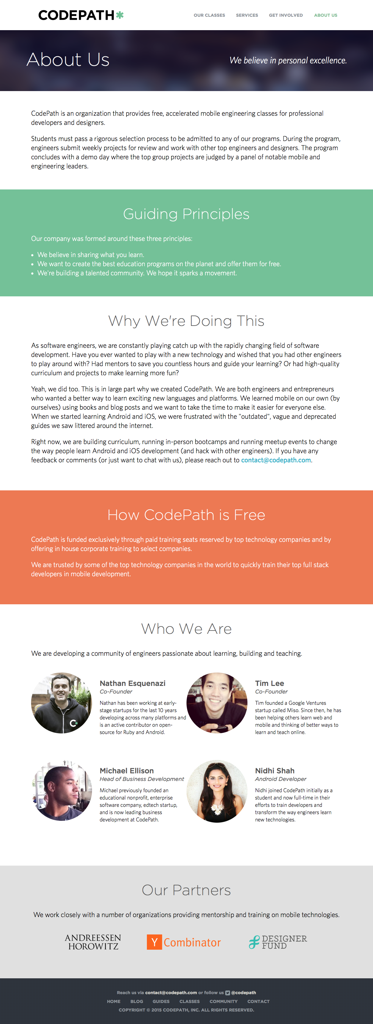 About Us | CodePath